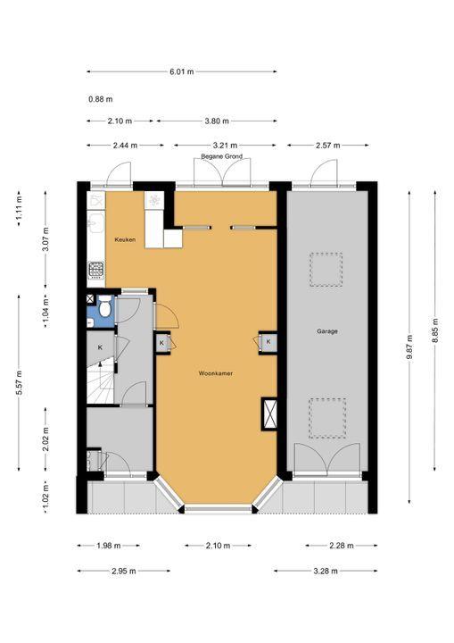 Vondelstraat 3, Voorburg floorplan-0