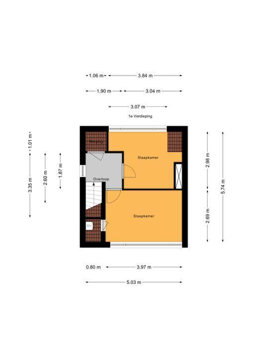 Wilsveen 53, Leidschendam floorplan-1