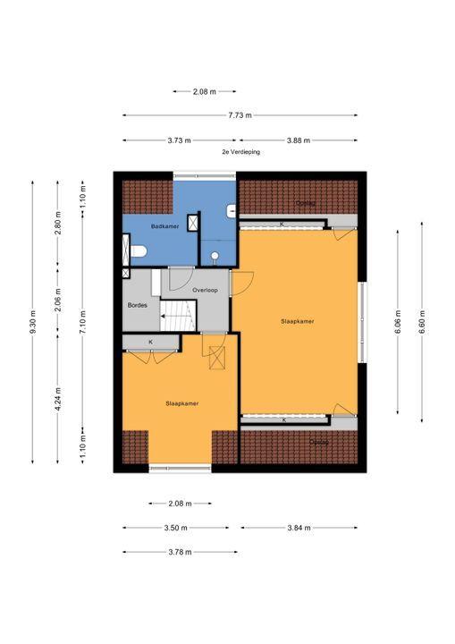 Prinses Mariannelaan 161, Voorburg floorplan-2