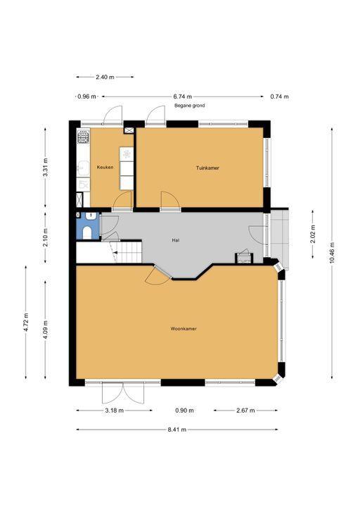 Prinses Mariannelaan 161, Voorburg floorplan-0