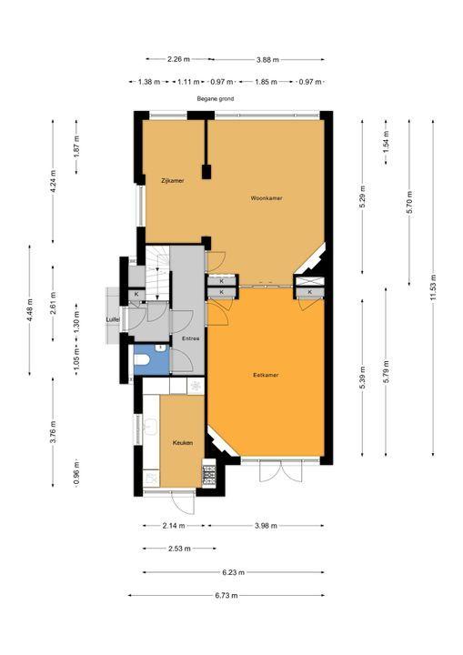 Parkweg 253, Voorburg floorplan-0