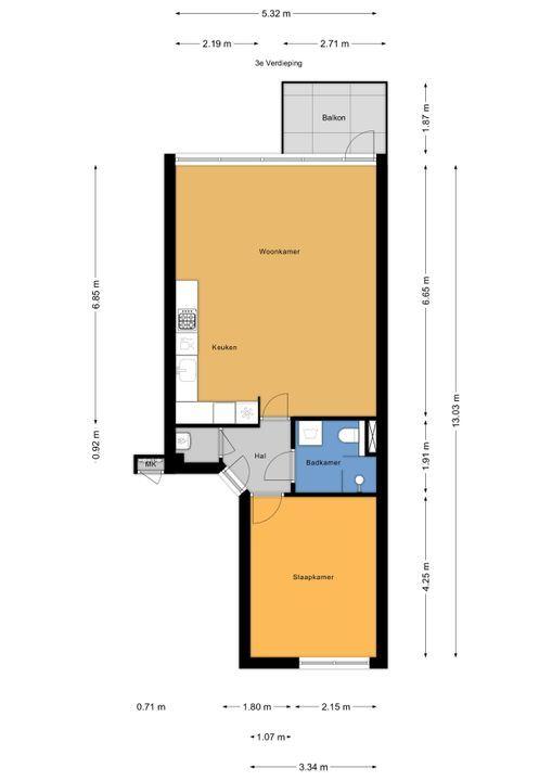 Corbulokade 35, Voorburg floorplan-0