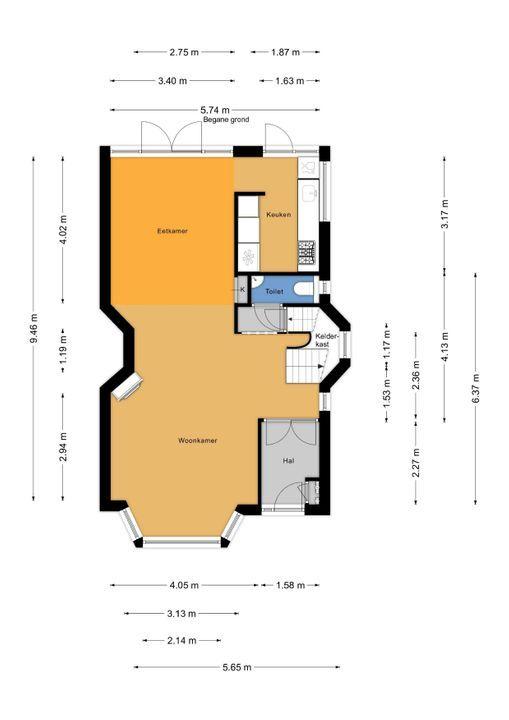 Veldzichtkade 1, Voorburg floorplan-0