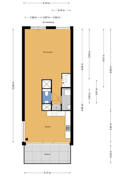 Dodaarsoever 49, Den Haag floorplan-0