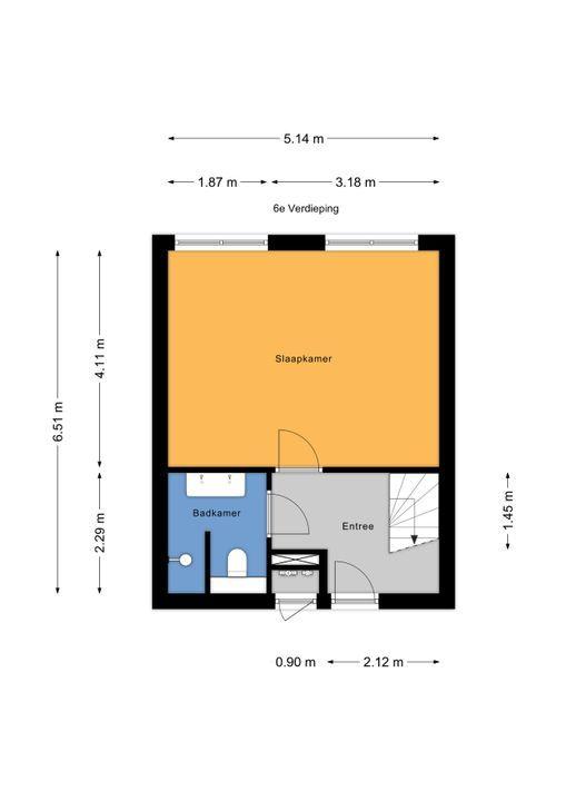 Dodaarsoever 49, Den Haag floorplan-1