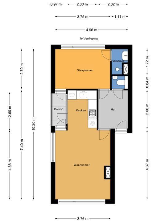 Keltenlaan 1, Voorburg floorplan-0
