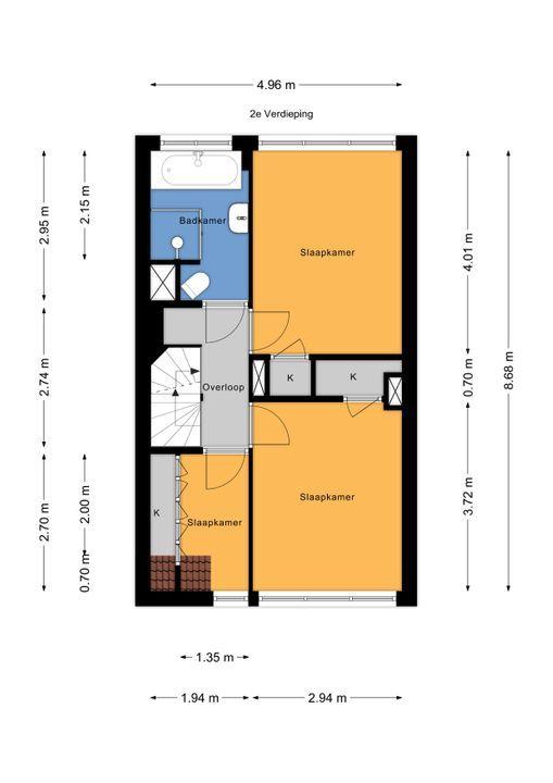 Jacob Catsstraat 76, Voorburg floorplan-2