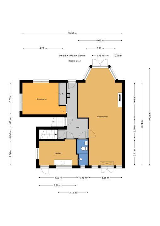 Spreeuwenlaan 20, Den Haag floorplan-0