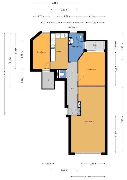 van Wassenaerstraat 16, Voorburg floorplan-0
