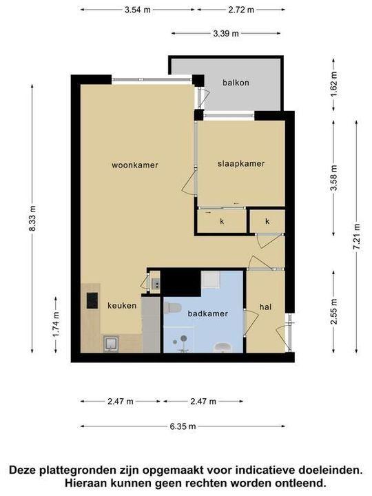 De Haar 156, Leidschendam floorplan-0