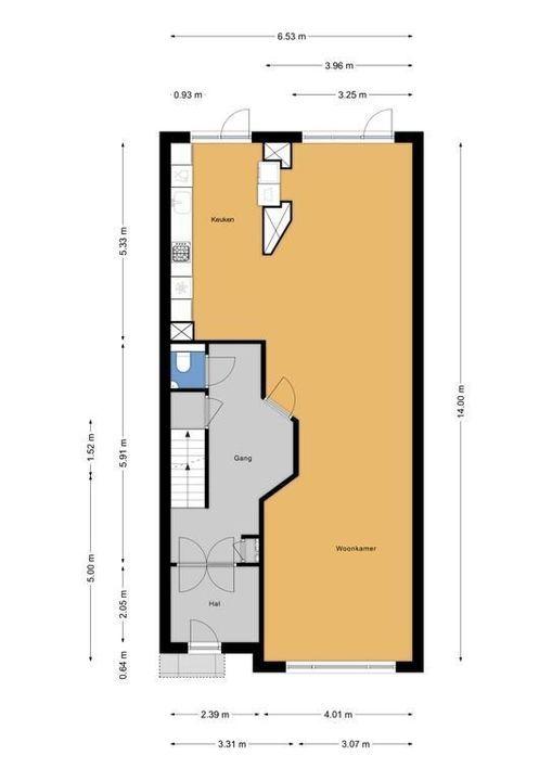 Koningin Wilhelminalaan 524, Voorburg floorplan-0