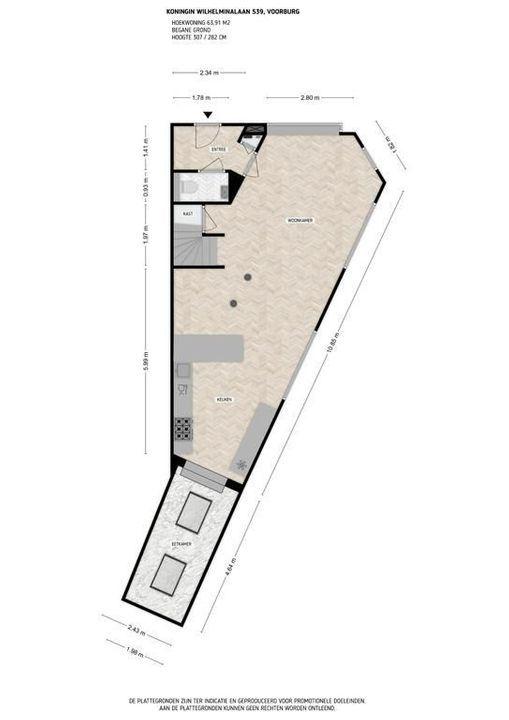Koningin Wilhelminalaan 539, Voorburg floorplan-0