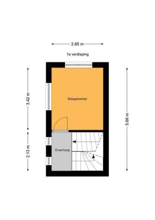 Spreeuwenlaan 20, Den Haag floorplan-1