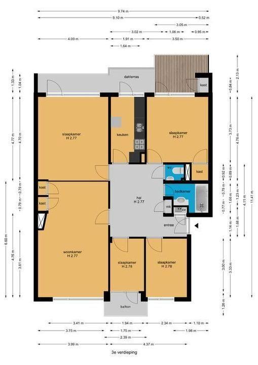 Koningin Julianalaan 112, Voorburg floorplan-0