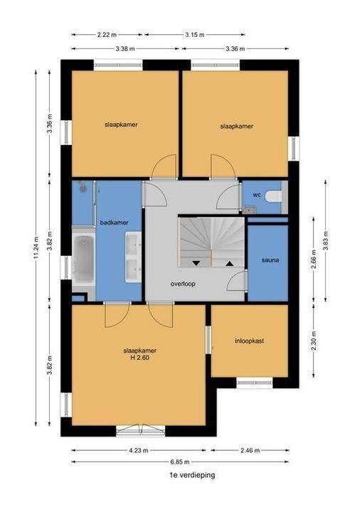 Dokter Bakkerenlaan 6, Nootdorp floorplan-1
