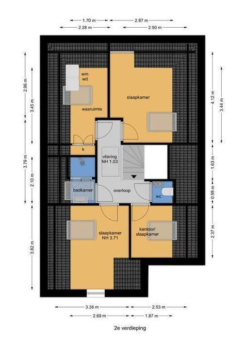 Dokter Bakkerenlaan 6, Nootdorp floorplan-2