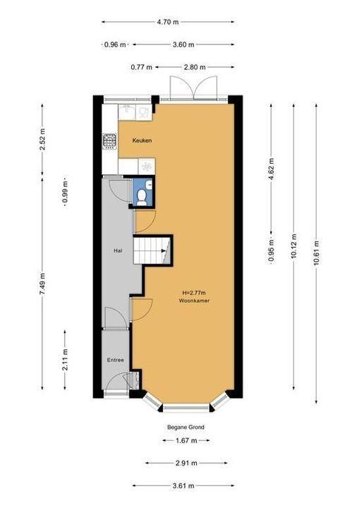 Agrippinastraat 28, Voorburg floorplan-0
