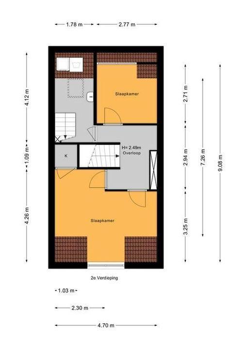 Agrippinastraat 28, Voorburg floorplan-2