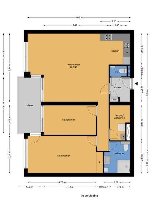 Oude Haven 15, Voorburg floorplan-0