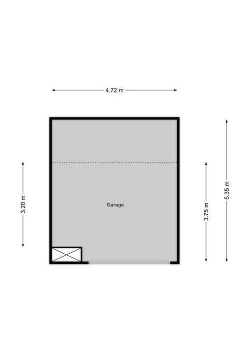 Raadhuisstraat 23, Voorburg floorplan-1