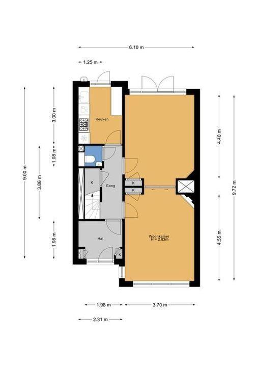 Laan van Sevenstar 18, Voorburg floorplan-0