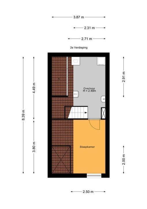 Laan van Sevenstar 18, Voorburg floorplan-2