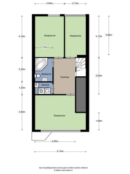 Fischerstraat 359, Den Haag floorplan-1