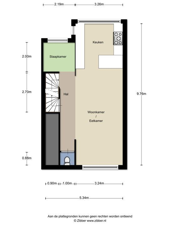 Tulpstraat 146, Rijswijk floorplan-1