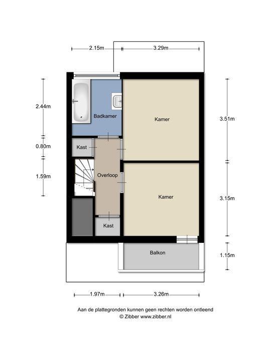 Tulpstraat 146, Rijswijk floorplan-2