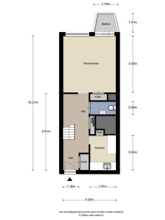 Meppelweg 599, Den Haag floorplan-0