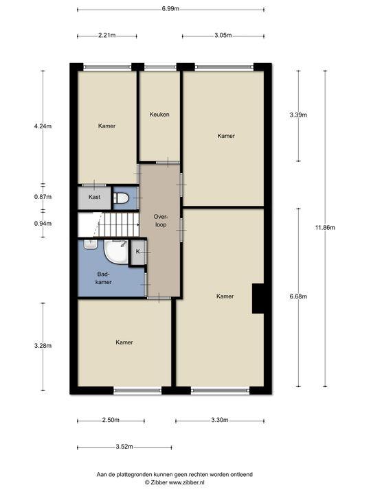 Uddelstraat 95, Den Haag floorplan-0