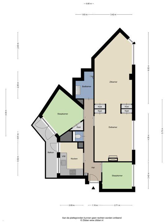 Wenckebachstraat 71, Den Haag floorplan-0