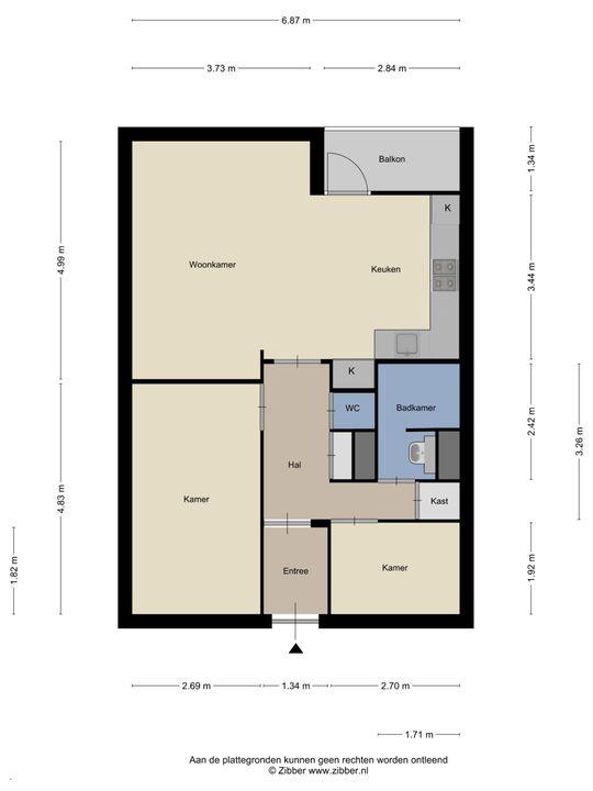 Van Vollenhovenplein 64, Leiden floorplan-0