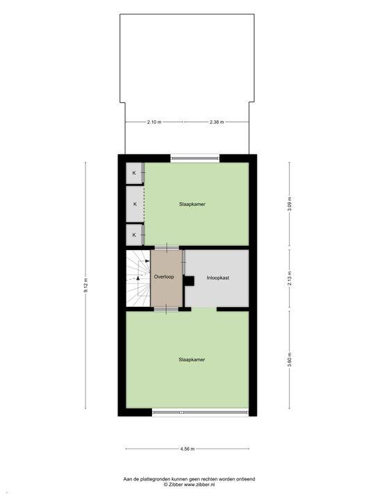 Kaapstraat 176, Den Haag floorplan-1