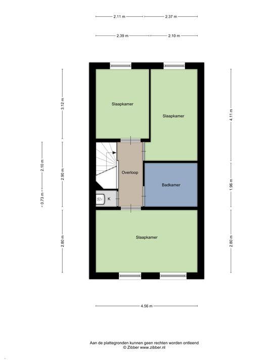 Kaapstraat 176, Den Haag floorplan-2