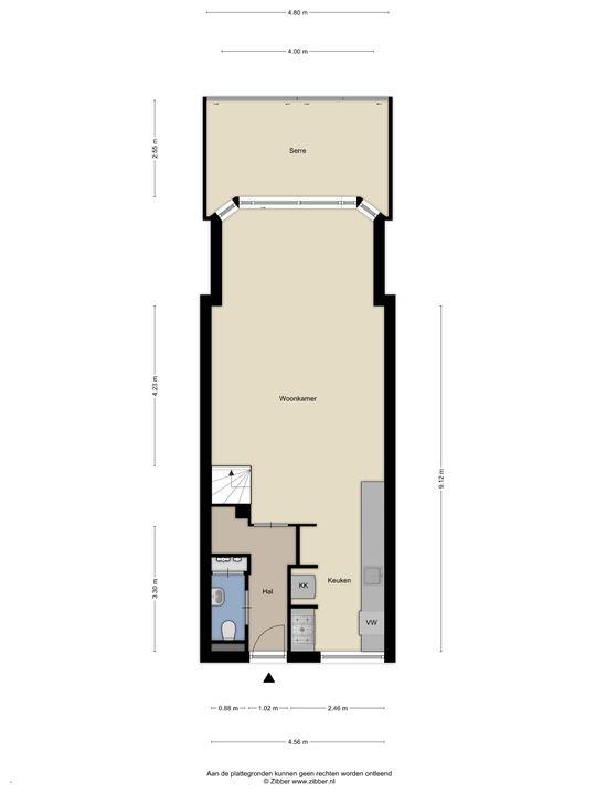 Kaapstraat 176, Den Haag floorplan-0