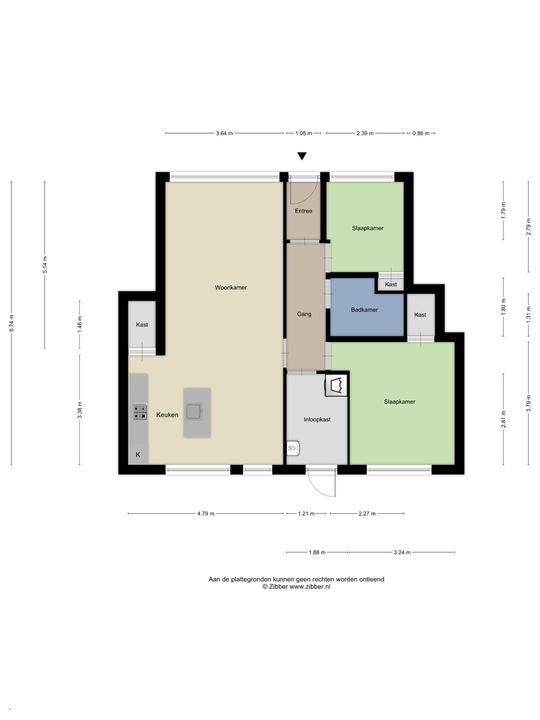 Van den Berghstraat 58, Den Haag floorplan-0