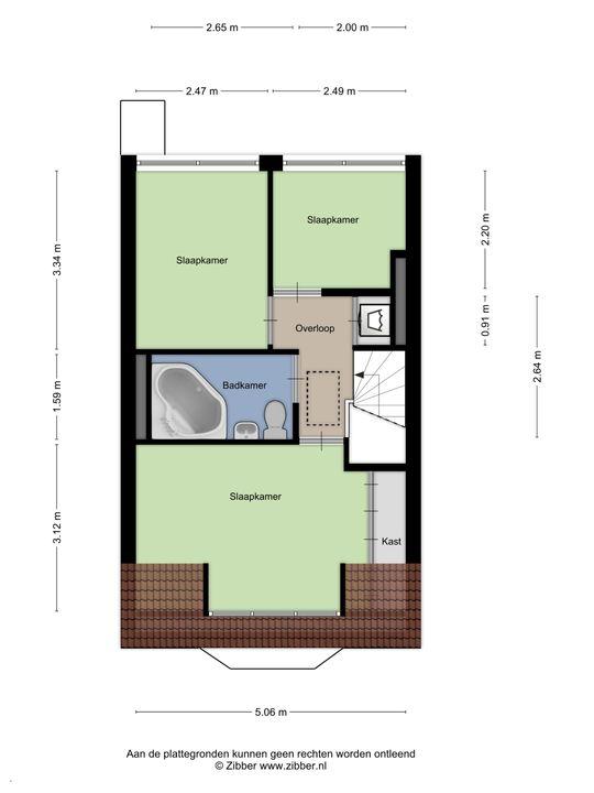 Tonystraat 11, Den Haag floorplan-2