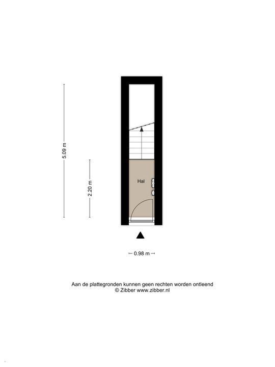 Tonystraat 11, Den Haag floorplan-0