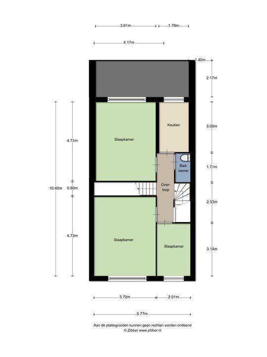Van Bylandtstraat 130, Den Haag floorplan-2