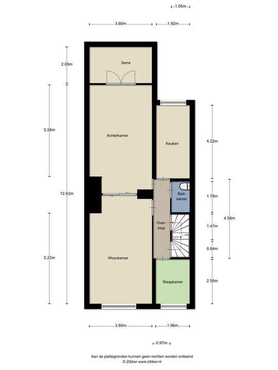 Van Bylandtstraat 130, Den Haag floorplan-1