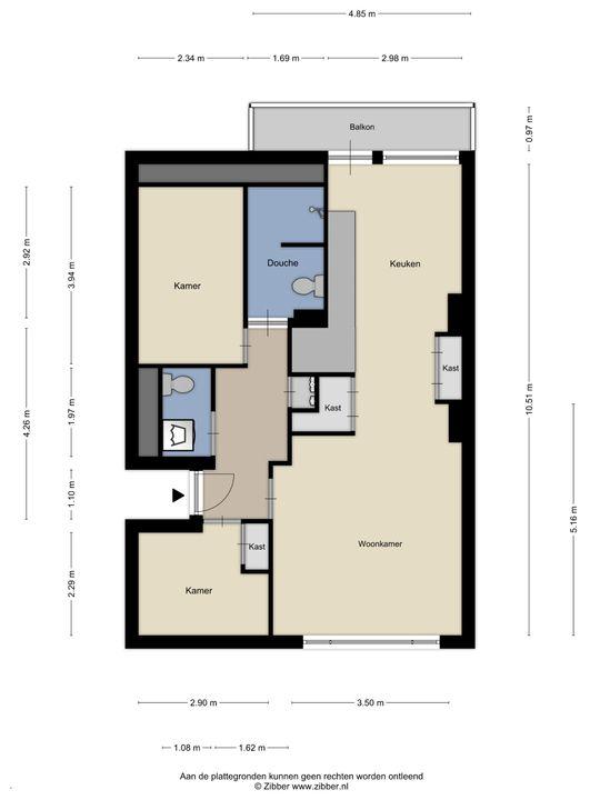 Werkhovenstraat 52, Den Haag floorplan-0