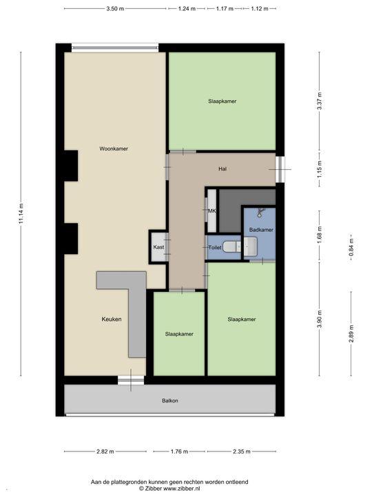 Nieuwersluisstraat 17, Den Haag floorplan-0