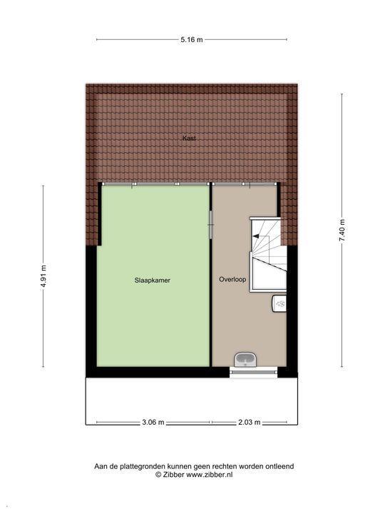 Klinckaertschans 19, Zoetermeer floorplan-2