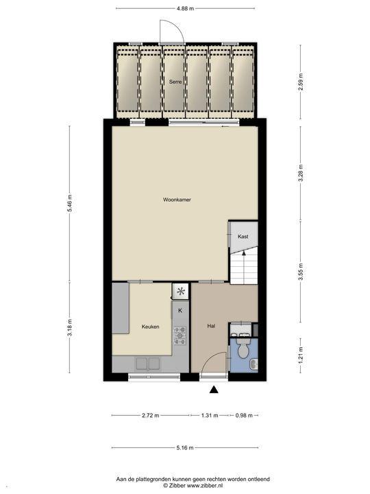 Klinckaertschans 19, Zoetermeer floorplan-0