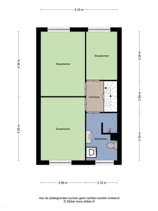 Klinckaertschans 19, Zoetermeer floorplan-1