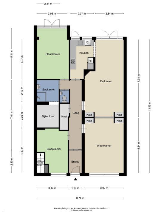 Goudenregenstraat 146, Den Haag floorplan-0