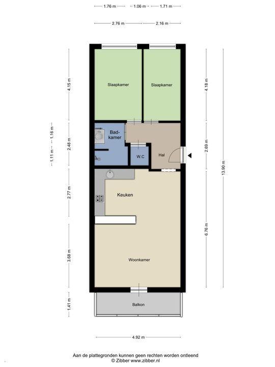 Forellendaal 397, Den Haag floorplan-0