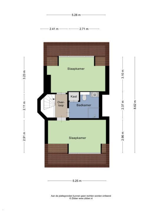 Koningin Julianalaan 25, Voorburg floorplan-3