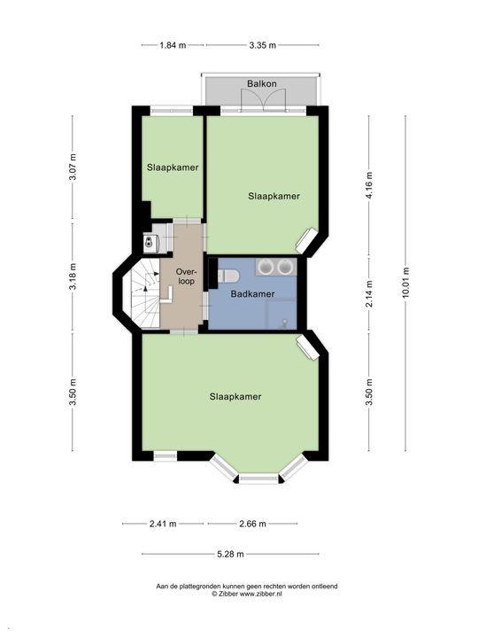 Koningin Julianalaan 25, Voorburg floorplan-2